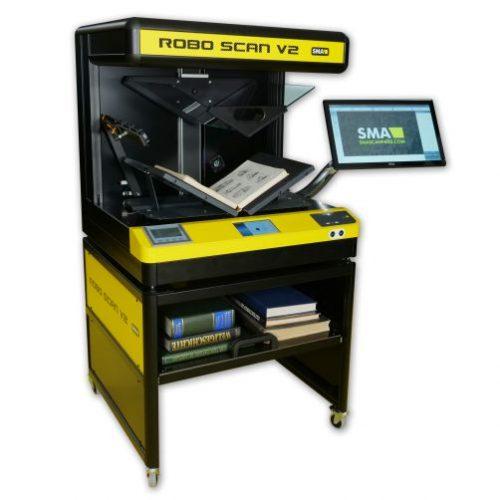 Robotic Book Scanner